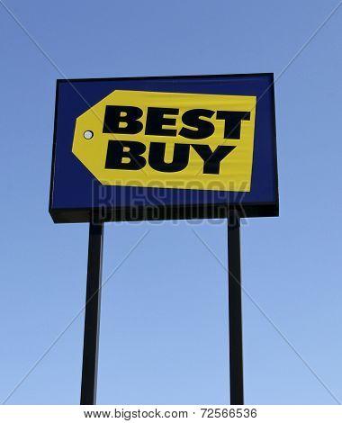 Best Buy Road Sign