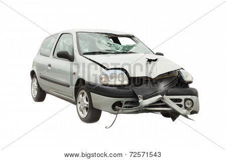 wrecked car accident