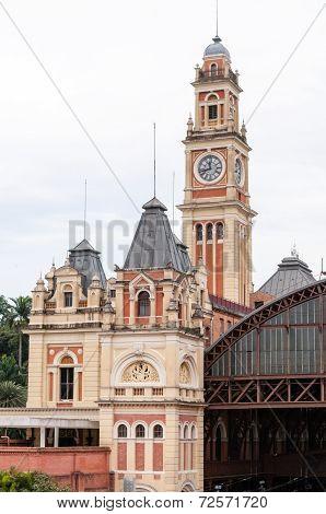 Luz Train Station, Sao Paulo