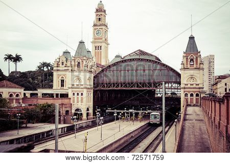 Sao Paulo, Luz Train Station