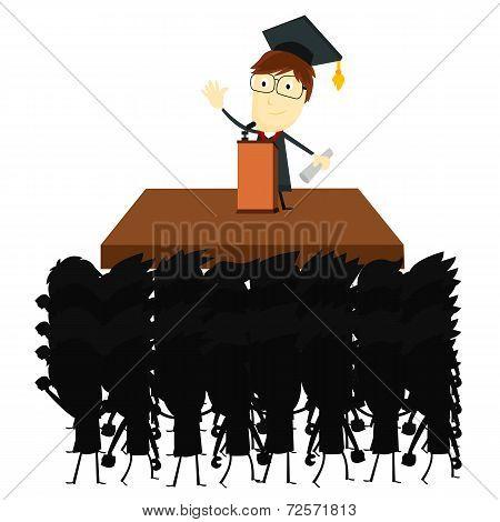 Graduation Speech Audience