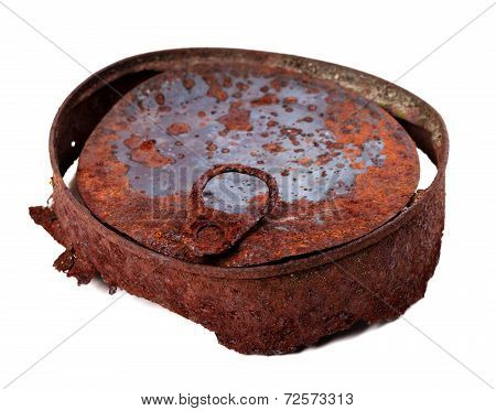 Old Rusty Tin Can
