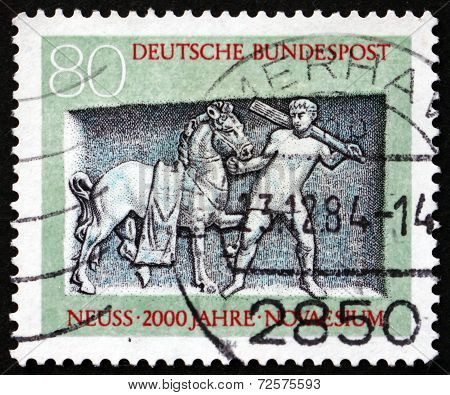 Postage Stamp Germany 1984 Tomb Of Oclatius, Neuss