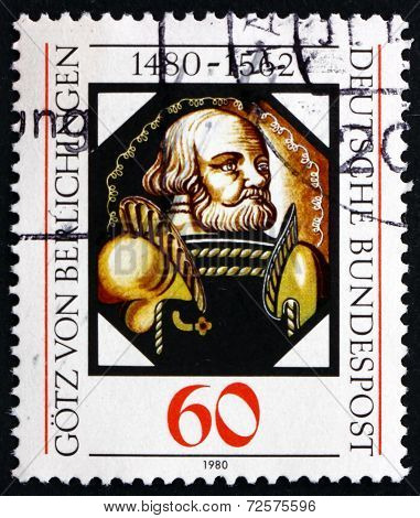 Postage Stamp Germany 1980 Gotz Von Berlichingen, German Imperia