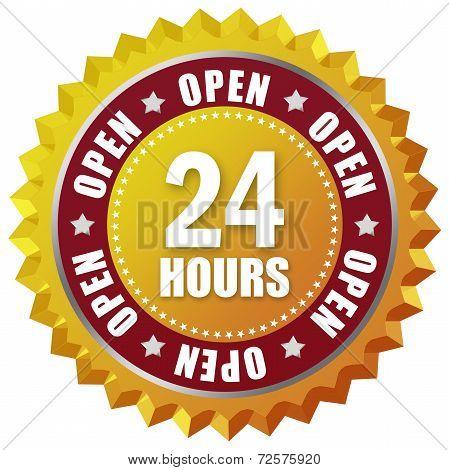 Open twenty four hour