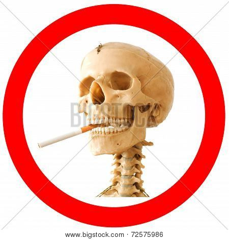 Smoking kills sign