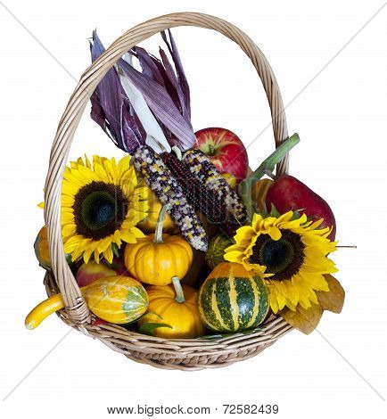Autumn Harvest Basket