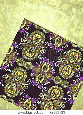 grunge background with carpet detail