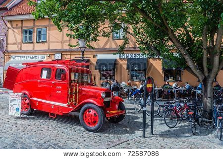 Old fire dept. car