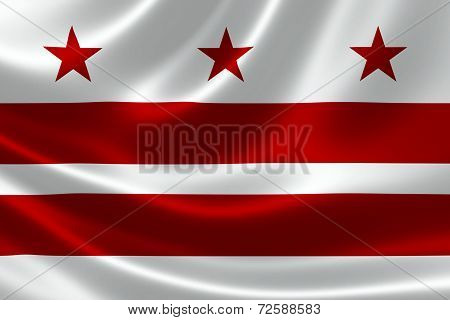 District Of Columbia State Flag