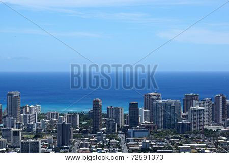 Honolulu Metropolitan Cityscape