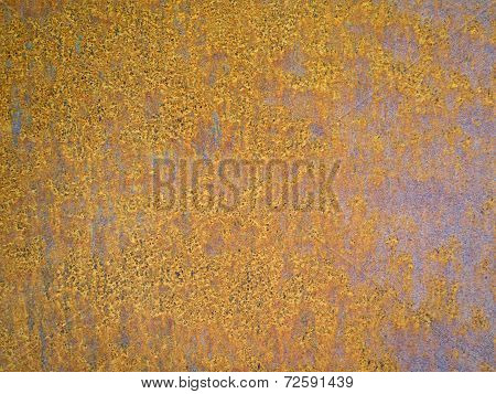 Rusted Orange Brown Metal Corroded Pattern Texture
