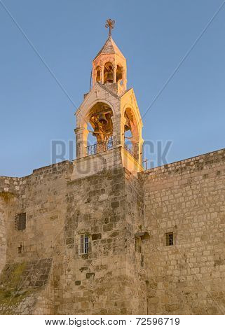 Holy Church of the Nativity Bell Tower, Bethlehem, Israel