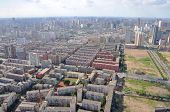 stock photo of northeast  - Shenyang City Skyline Aerial view - JPG