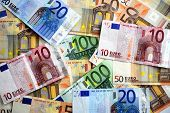 banknotes of Europe poster