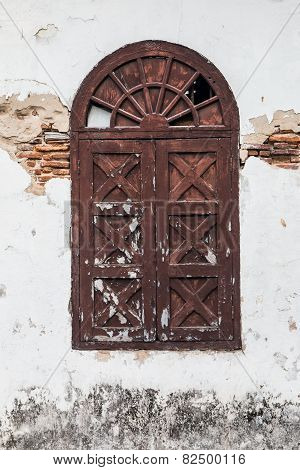 Old Brown Window