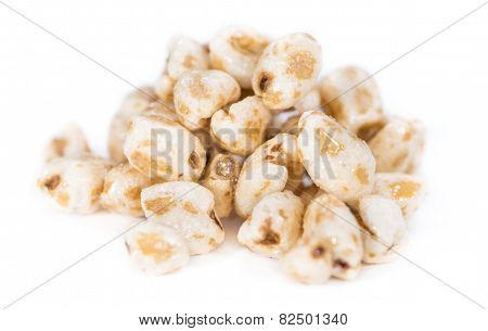 Puffed Wheat (isolated On White)