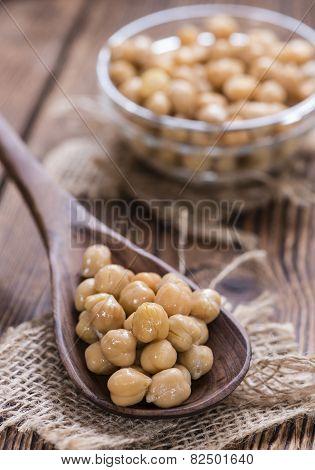 Preserved Chick Peas
