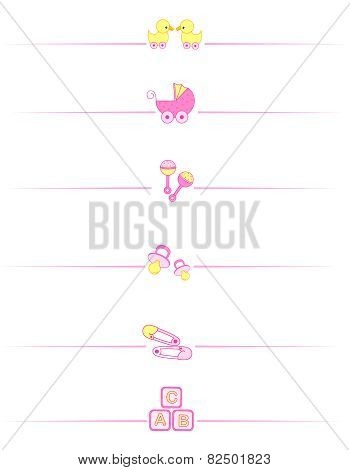 Baby Girl Accessories Divider