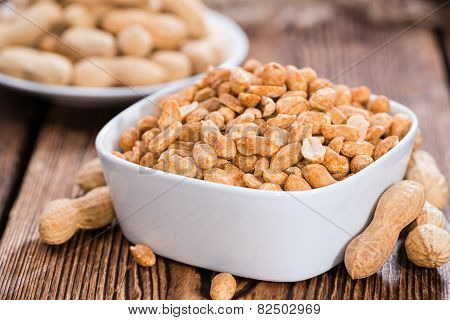 Small Bowl With Peanuts