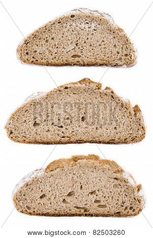 Bread (isolated On White)