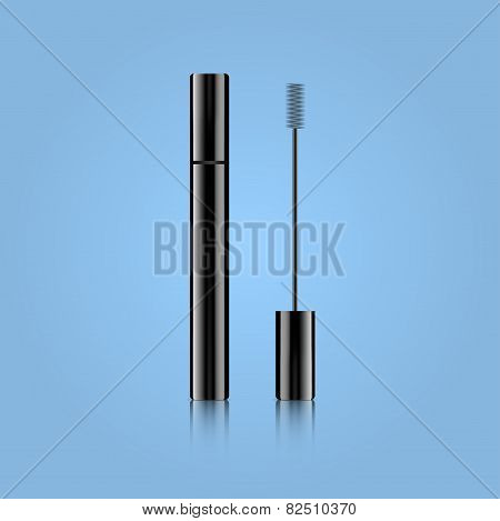 vector illustration of mascara