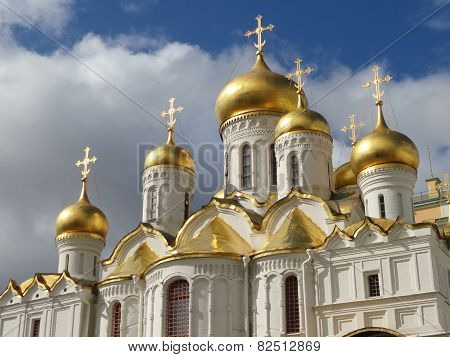 Cathedral of Asuncion, Kremlin inside, Moscow