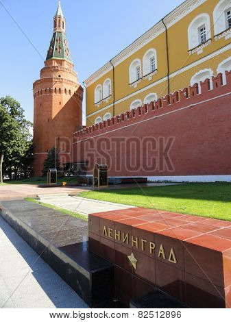 Outside the Kremlin