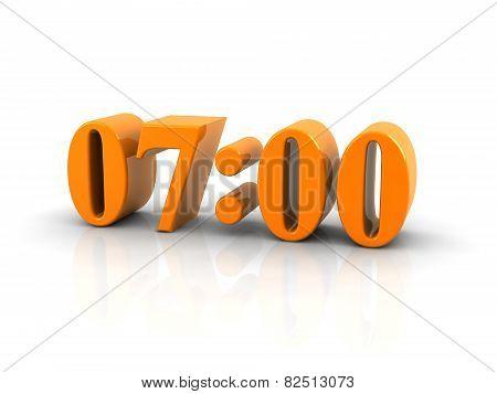 Time 7 O'clock