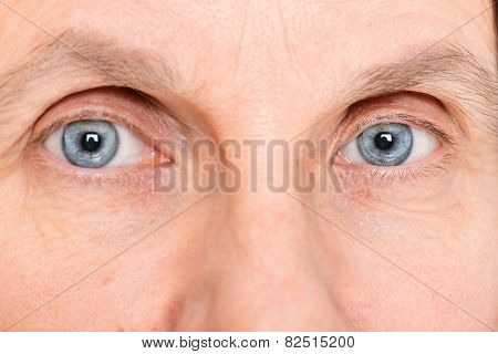 Eyes With Contact Lenses