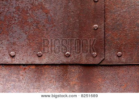 Small Rusty Rivets