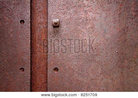 Rusty Plate Metal
