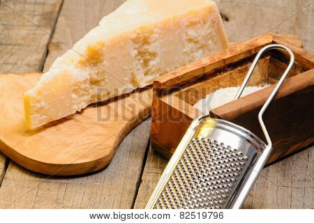 Grater And Parmesan Cheese