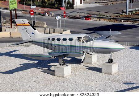 Cessna 421B, Malaga.
