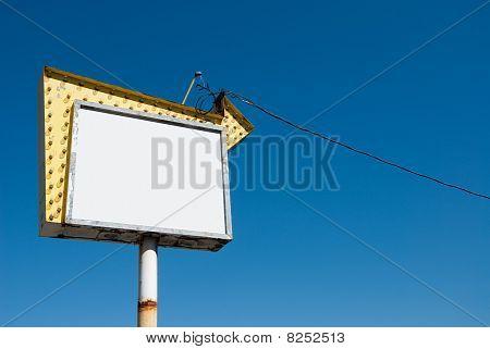 Vintage Billboard