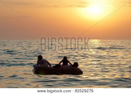 People On The Raft