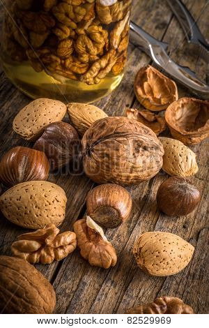 Nuts In Honey