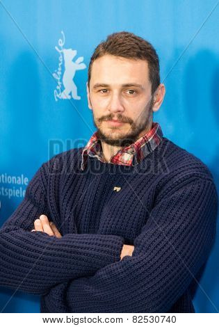 BERLIN, GERMANY - FEBRUARY 06: James Franco, photocall 'Queen of the Desert'. 65th Film Festival at Hyatt Hotel on February 6, 2015 in Berlin, Germany.