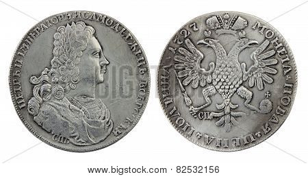 Russian Silver Coin