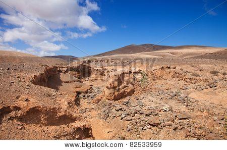 Fuerteventura, Canary Islands, El Barranco De Los Molinos