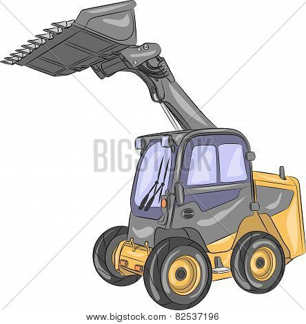 Vector Compact Wheel Loader.