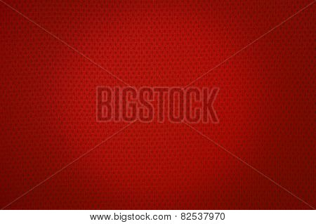Red Sport Mesh Cloth Texture