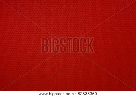 Red Sport Mesh Clothes