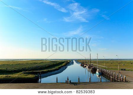 Smallest Sea Harbor Netherlands, Noordpolderzijl