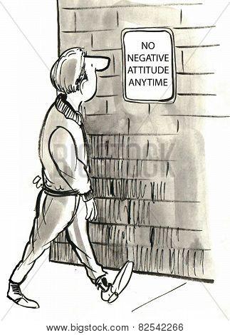No Negative Attitude