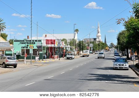Street Scene In Beaufort West