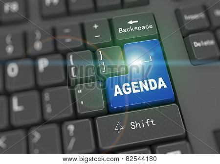 3D Keyboard - Word Agenda