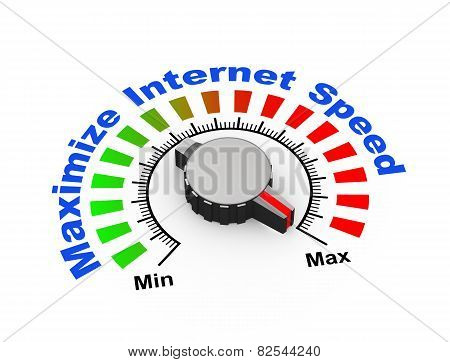 3D Knob - Maximize Internet Speed