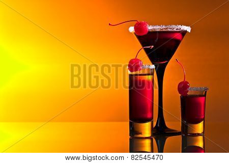 Alcoholic Drinks With  Cherry