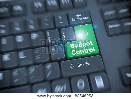 3D Keyboard - Budget Controls Words